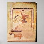 Megakles la feria, 500 A.C. Póster