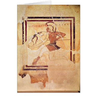 Megakles the Fair, 500 BC Greeting Card