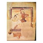 Megakles the Fair, 500 BC Postcard