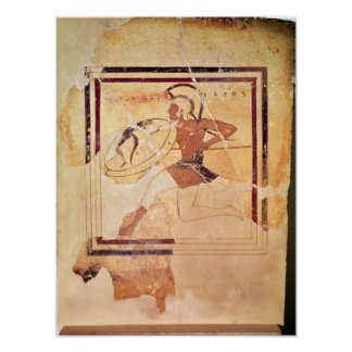 Megakles the Fair, 500 BC Poster