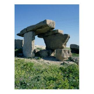 Megalith, prehistoric postcard