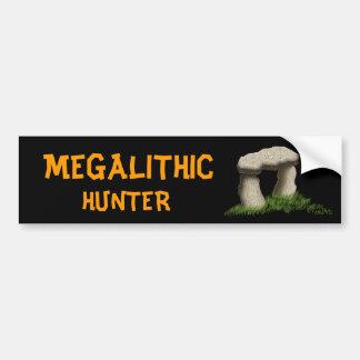 Megalithic Hunter Car Bumper Sticker