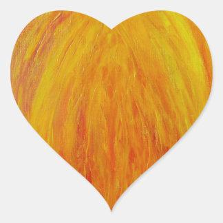 Megalo Milo Heart Sticker