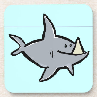 megalodon drink coasters