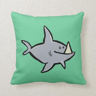 megalodon throw pillows