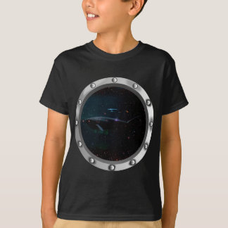 Megalodon shark compared to a great white shark T-Shirt