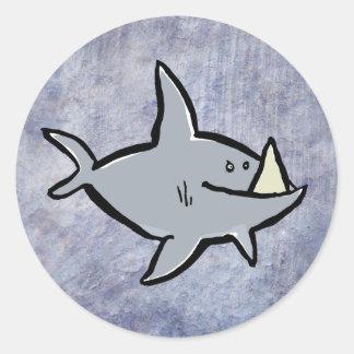 megalodon sticker
