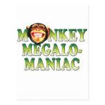 Megalomaniac del mono postal