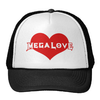 Megalove Metal Valentines Day Trucker Hat