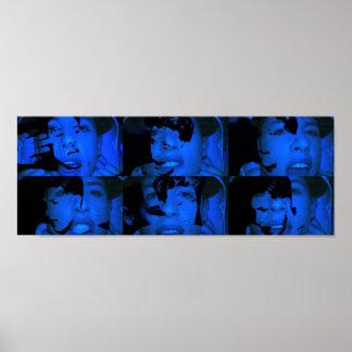 Megaman Video Art Collage Print