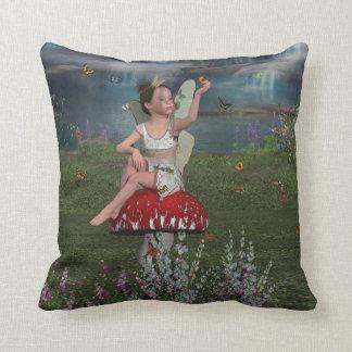 Megan a Young Fairy American MoJo Pillow