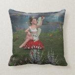 Megan a Young Fairy American MoJo Pillow Pillows