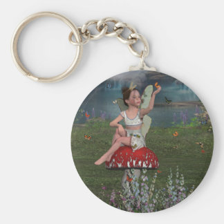 Megan a Young Fairy Keychain