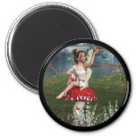 Megan a Young Fairy Refrigerator Magnets