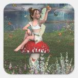 Megan a Young Fairy Sticker