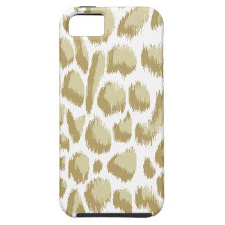 Megan Adams Animal Print Ikat Lighter Biege iPhone SE/5/5s Case
