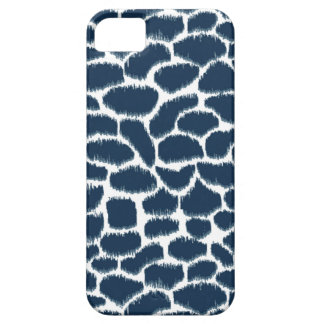 Megan Adams Animal Print Ikat Navy iPhone SE/5/5s Case