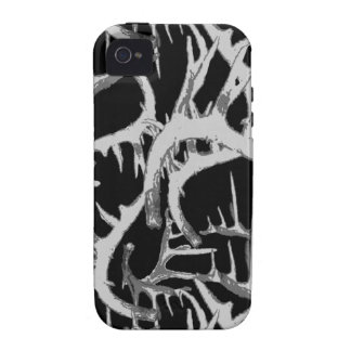 Megan Adams Antler print Case For The iPhone 4