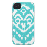Megan Adams Zig Zag Ikat- turquoise Case-Mate iPhone 4 Case