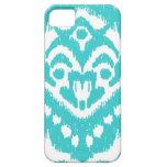 Megan Adams Zig Zag Ikat- turquoise iPhone 5 Covers