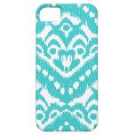 Megan Adams Zig Zag Ikat- Turquoise iPhone 5 Cases