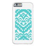 Megan Adams Zig Zag Ikat- Turquoise iPhone 6 Case