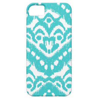 Megan Adams Zig Zag Ikat- Turquoise iPhone SE/5/5s Case