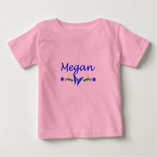 Megan (Blue Butterfly) Baby T-Shirt