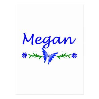Megan (Blue Butterfly) Postcard