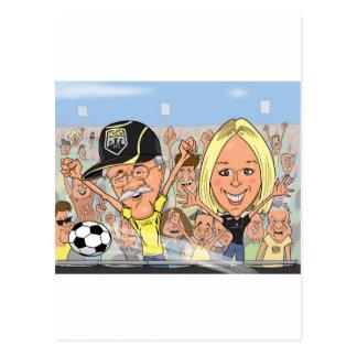 Megan-Caricature Postcard