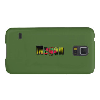 Megan Customized Solid Green Galaxy cover
