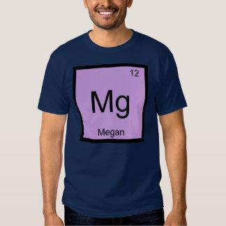 Megan Name Chemistry Element Periodic Table Tee Shirt
