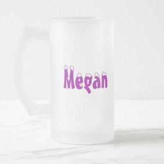 Megan-Name Mug Frosted