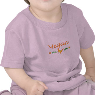 Megan (Orange Butterfly) Shirts