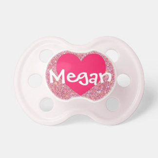 """""""Megan"""" Personalized Name Pacifier"""