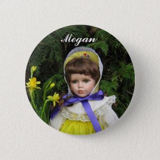 Megan Pinback Button