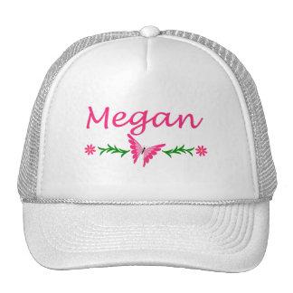 Megan Pink Butterfly Hats