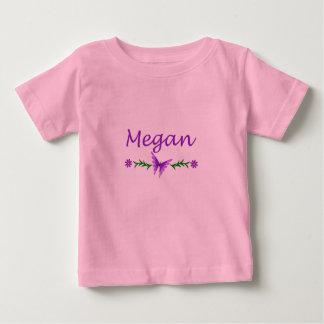 Megan (Purple Butterfly) Baby T-Shirt