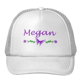 Megan Purple Butterfly Hat