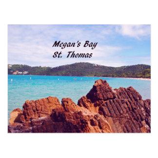 Megan's Bay St. Thomas Postcard