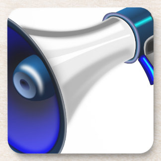 megaphone-1578-trjmp beverage coaster