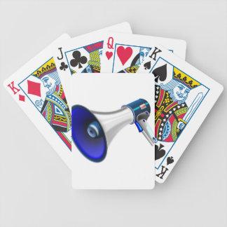 megaphone-1578-trjmp bicycle playing cards