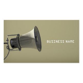 Megaphone Business Card