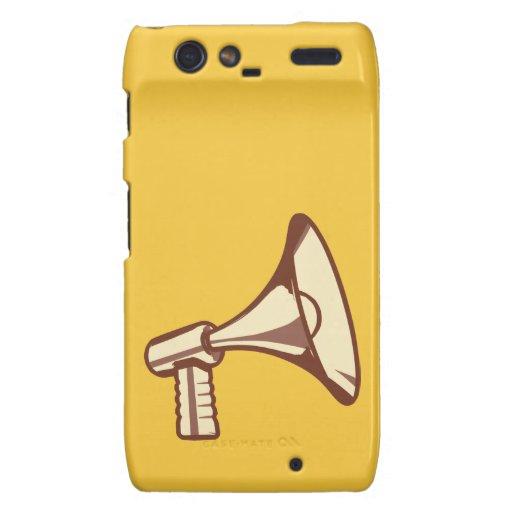 Megaphone Motorola Droid RAZR Covers