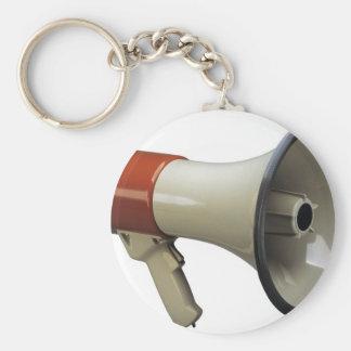 megaphone keychain