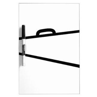 Megaphone Outline Dry Erase Board