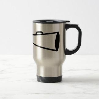 Megaphone Outline Travel Mug