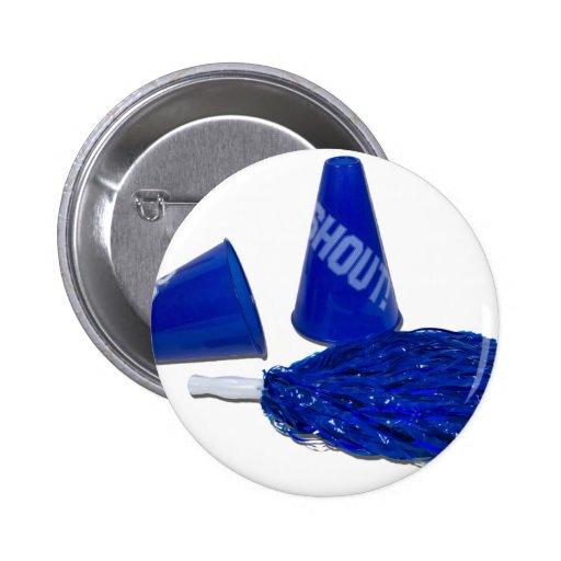 MegaphonesPomPoms091711 Pinback Buttons