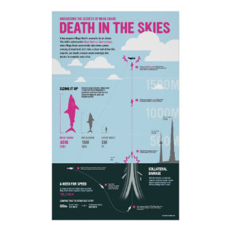 Megashark: Death in the skies Poster