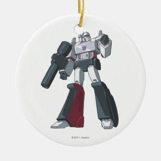 Megatron 1 ceramic ornament